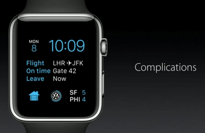 Complications for watchOS 2