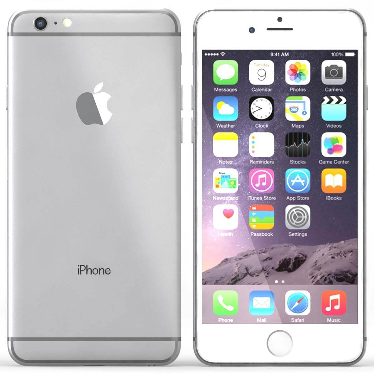 iPhone 6 S (space grey colour)