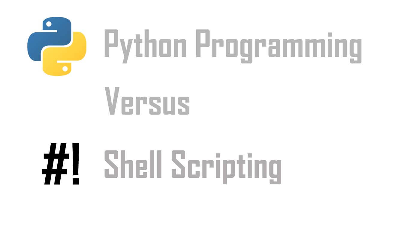 Nothing Better Than Mixture Of Bash Scripting And Python