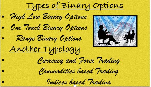 Binary options trading tips