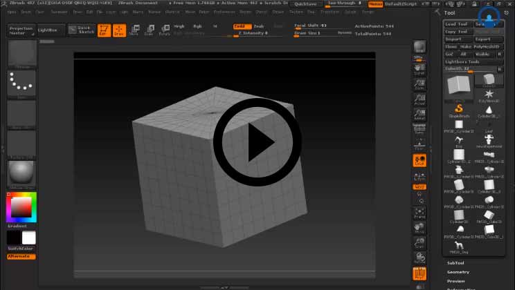 ZBrush Online Training