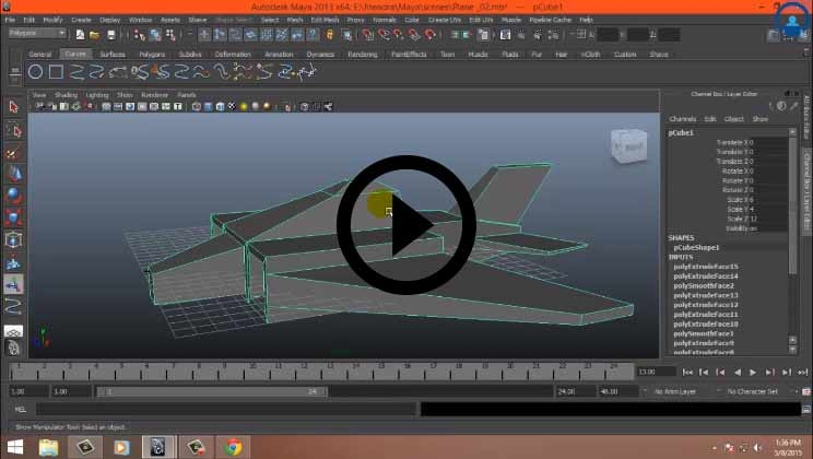 Comprehensive Maya Training