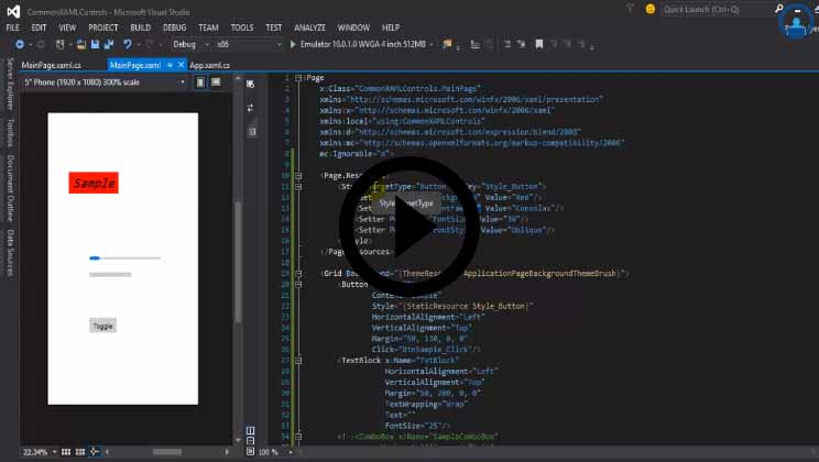 Windows 10 - Universal App Development using Windows 10