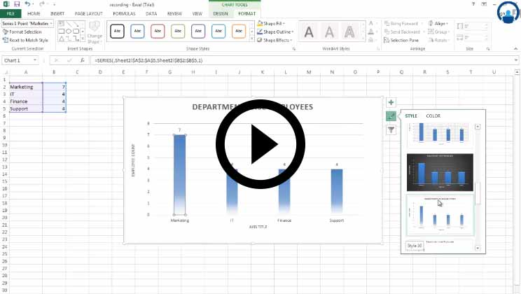MS Excel 2013 Comprehensive Excel Course