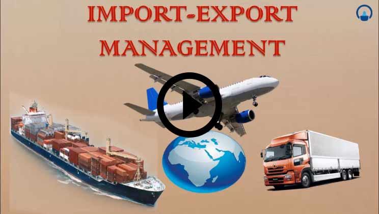 Import Export Management Course
