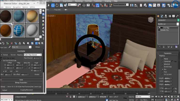 Autodesk 3DS Max 2016 - Learn to Create a Complete Interior Scene