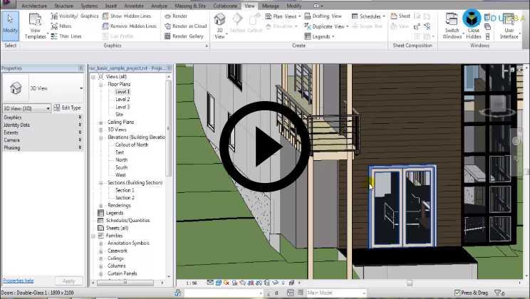 Autodesk Revit Architecture Training