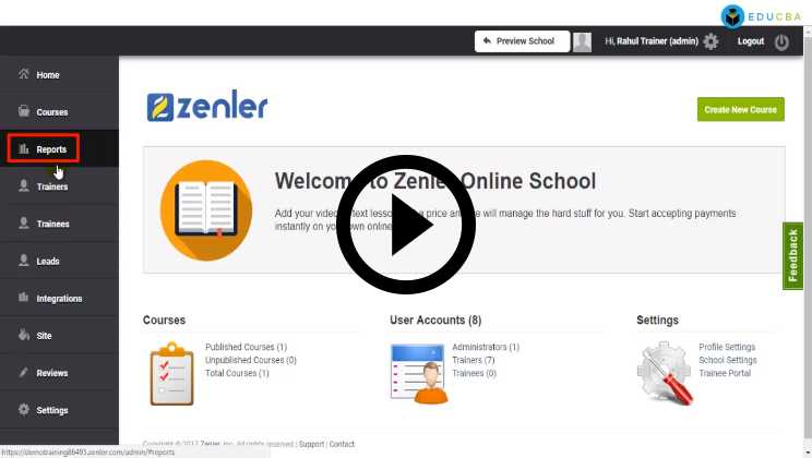 Zenler Studio LMS Tutorials