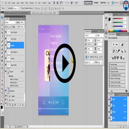 User Interface Designing with Photoshop Training