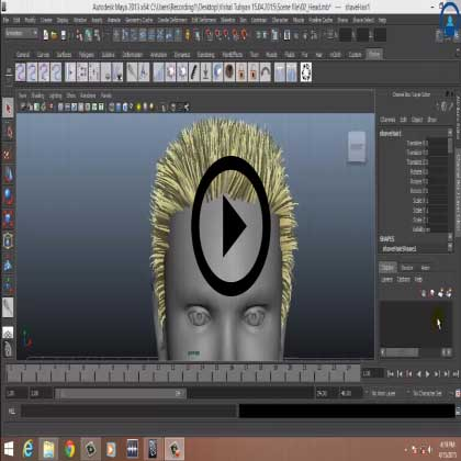 Autodesk Maya - Master Shave and Haircut with Maya