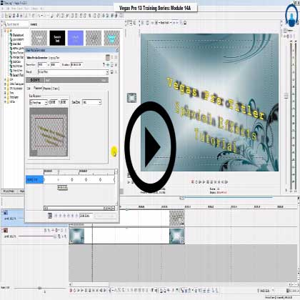 Sony Vegas Pro 13 (Module #14) - Complete Guide on Titler Animation