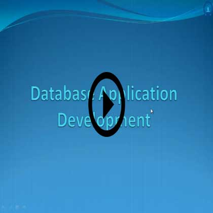Database Application Development Training