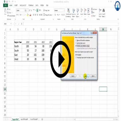 Excel 2013 Basic Pivots
