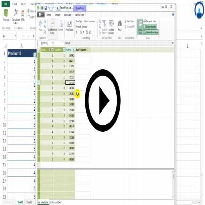 Power Pivot in Excel 2013