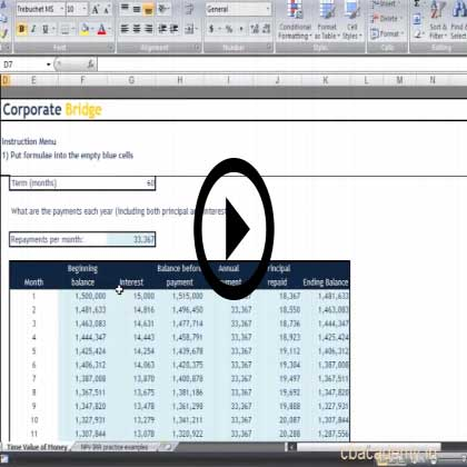 Project Finance Application - Feasiblity Analysis