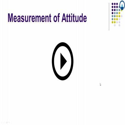 Attitude Development