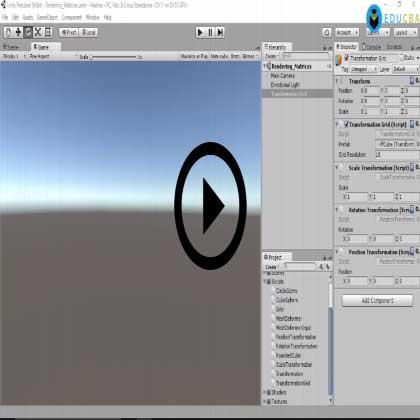 Advanced Unity (Module #3) - Rendering