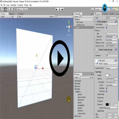 Advanced Unity (Module #5) - Simulation Noise