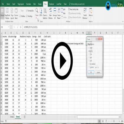 Predictive Modeling and Implementation Using MS Excel