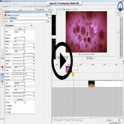 Sony Vegas Pro:11 - VFX Animations