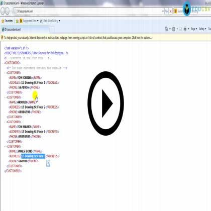 XML Hands-on!