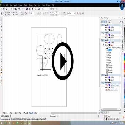 Complete Corel Draw Bootcamp (Module #6) - Advanced Menu Bar
