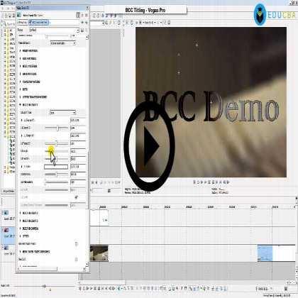 Boris Continuum Complete (BCC) - Titling