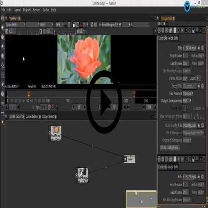 Natron - Compositing Layout and Keying in Natron