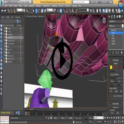 Modeling SHREK in 3DS Max (Series #2) - Shreks Shoelace, Index Finger and Hand