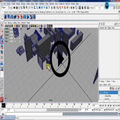 Autodesk Maya Architecture PreVisualization (Module #5) - Assigning Shaders and Textures