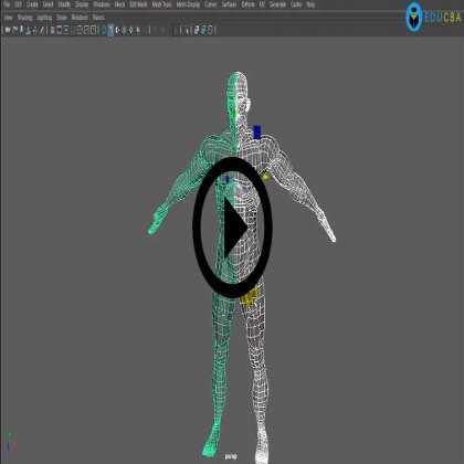 Autodesk Maya 2016 - 3D Character Modeling