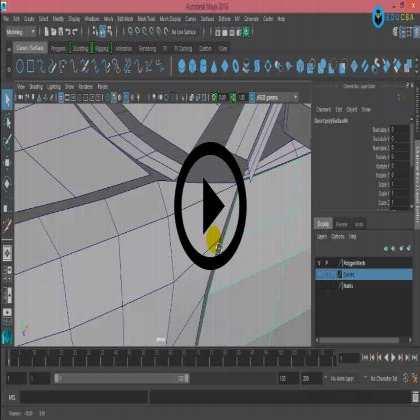 Automobile Design Series in Maya (Module #2) - Adding Details