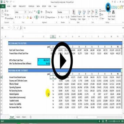 Comprehensive Project Finance Modeling