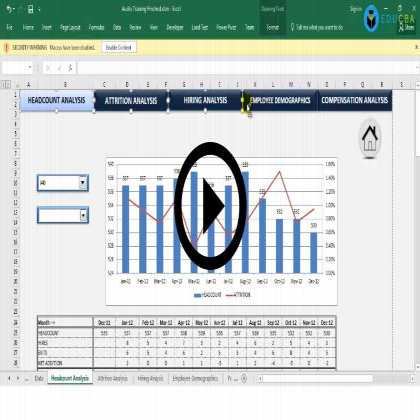 Excel Dashboard Training