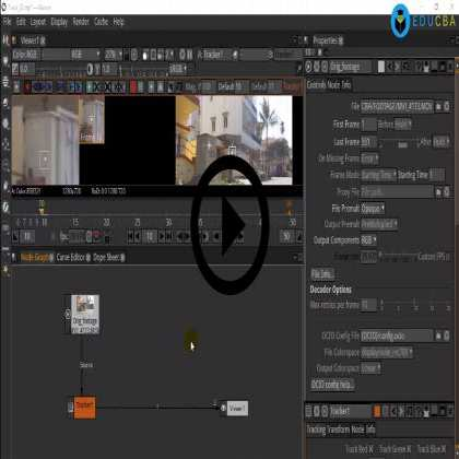 Natron (Module #4) - Tracking and Color Correction