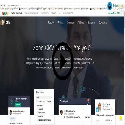 Zoho CRM - Cloud Based CRM Training