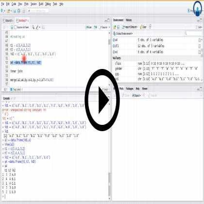 Business Analytics using R  (Module #2) - Data Manipulation & Statistics