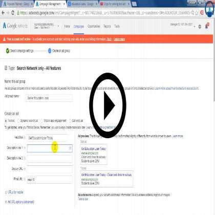 Google Adwords (Module #1) - Overview