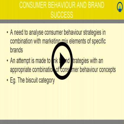 Consumer Behaviour (Module #1) - Consumer Research