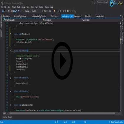 Editor Scripting in Unity - Intermediate