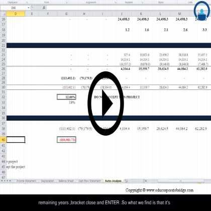 Project Finance Modeling - From Novice to Expert