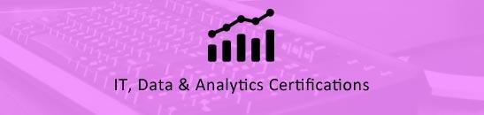 IT, Data & Analytics Certifications