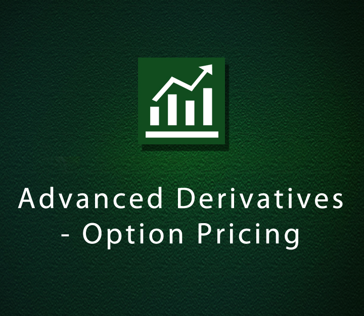 Advanced Derivatives - Option Pricing - Expert - 4 Sessions