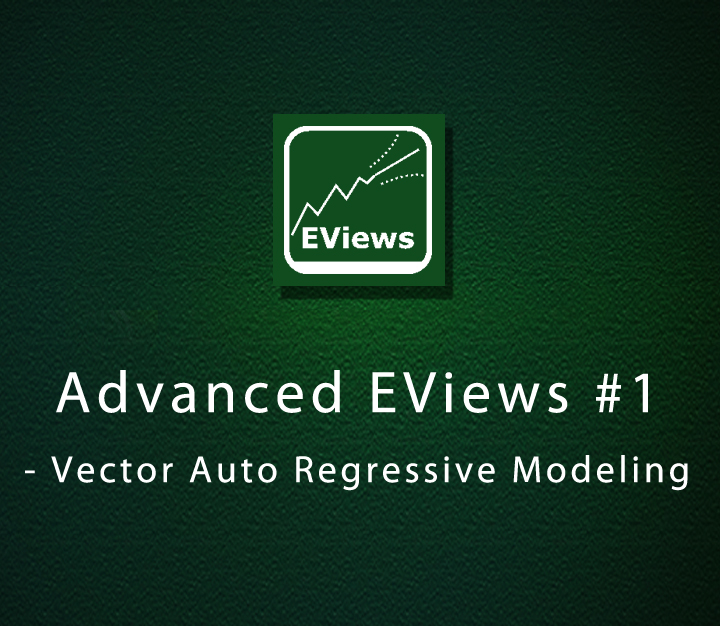 Advanced EViews 1 - Vector Auto Regressive Modeling - Expert - 13 Sessions