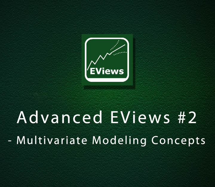 Advanced EViews 2 - Multivariate Modeling Concepts - Expert - 4 Sessions