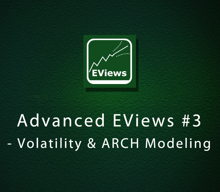Advanced EViews 3 - Volatility & ARCH Modeling - Expert - 6 Sessions