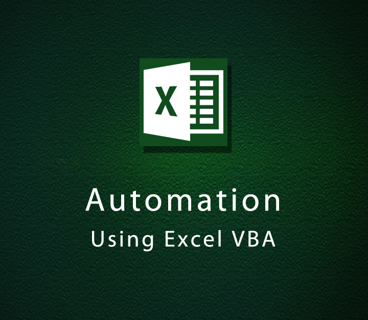 Automation Using Excel VBA - Intermediate - 1 Session
