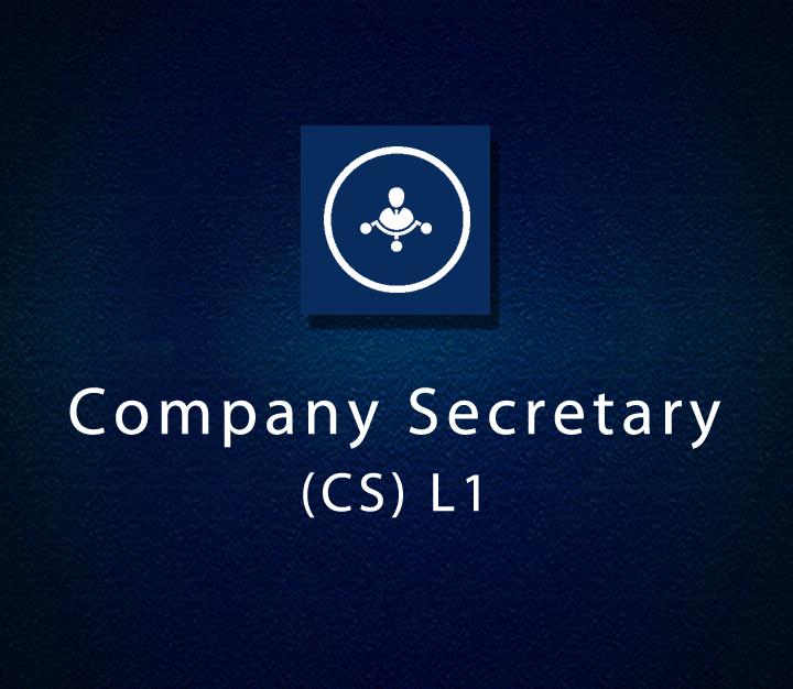 Company Secretary (CS) L1 - All Levels - 6 Sessions