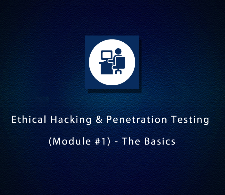 Ethical Hacking & Penetration Testing - Module 1 - The Basics - Intermediate - 4 Sessions