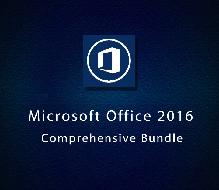 Microsoft Office 2016 Comprehensive Bundle - All Levels - 54 Sessions